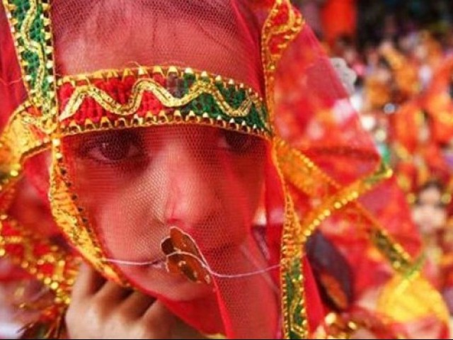 Two-year increase proposed in Child Marriage Restraint (Amend) Bill 2017. Representational image. PHOTO: REUTERS