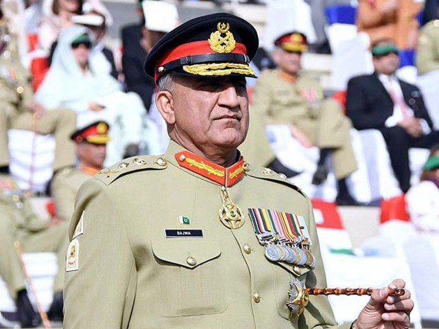 Army chief General Qamar Javed Bajwa. PHOTO: ISPR