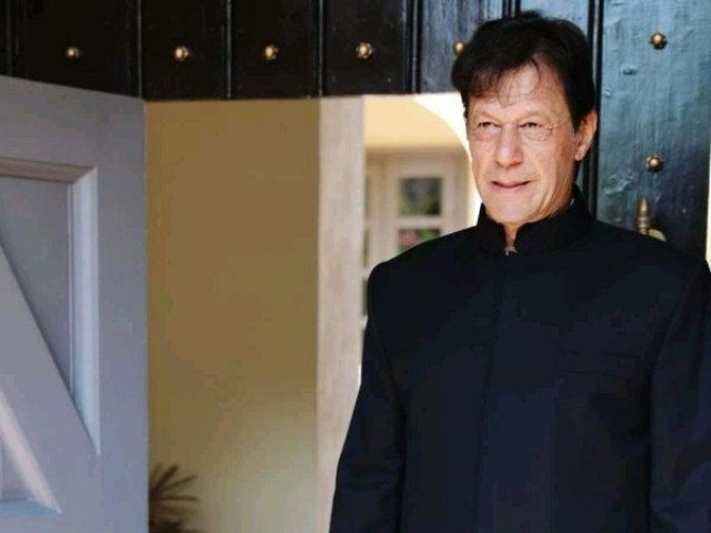 Imran Khan sworn in as Prime Minister.               PHOTO: TWITTER@PTI OFFICIAL