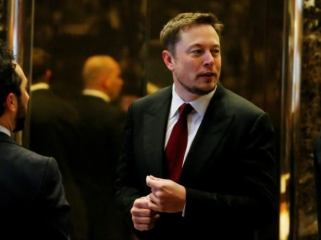 Musk surprised markets on August 7 by announcing on Twitter he wanted to take Tesla private at $420 a share.  PHOTO:REUTERS
