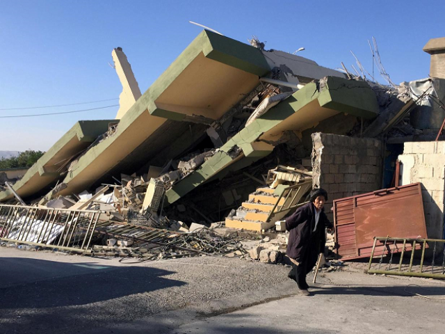 2 killed in 5.9-magnitude Iran quake