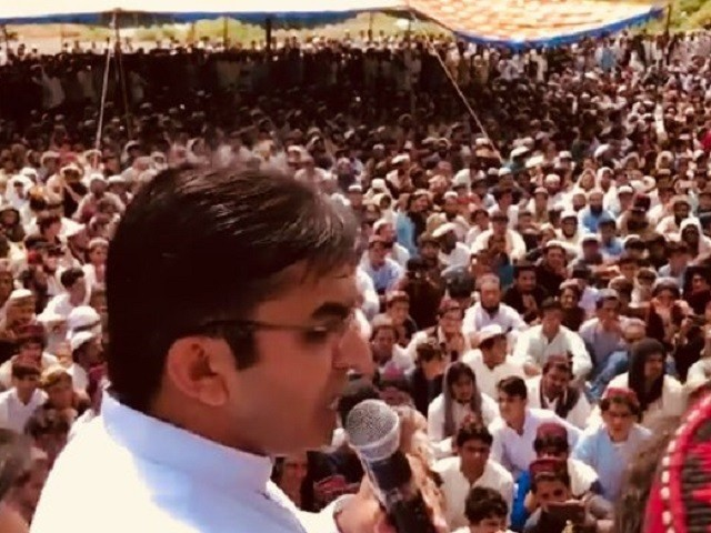 The VOA Deewa had earlier reported that MNA Mohsin Dawar of PTM announced an end to the sit-in. PHOTO COURTESY: VOA