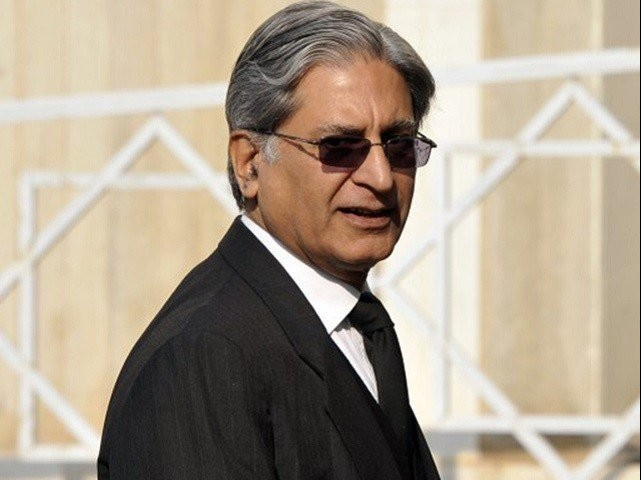 Chaudhry Aitzaz Ahsan. PHOTO: FILE