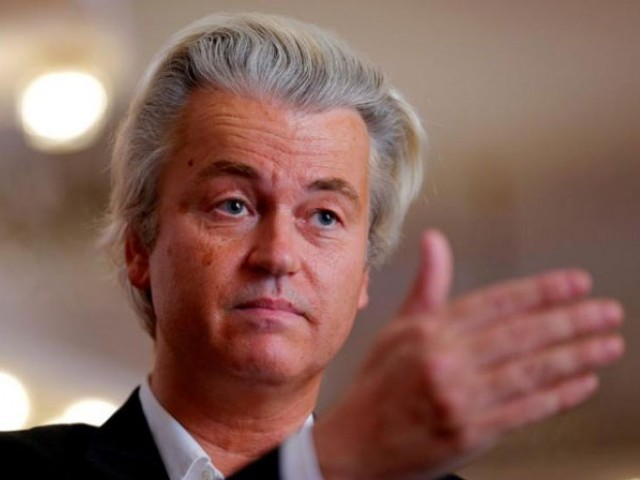 Dutch anti-Islam lawmaker Geert Wilders. PHOTO: REUTERS