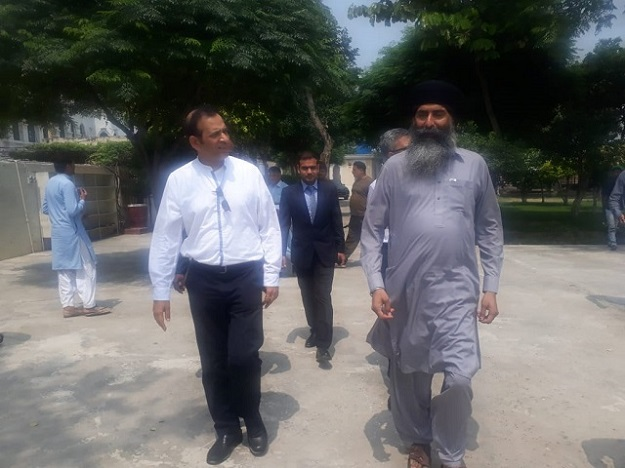 Indian High Commissioner Ajay Basariya visited Pakistan to tour the Kartarpur border as the Indian government resumes talks with Pakistan regarding the opening of the border.