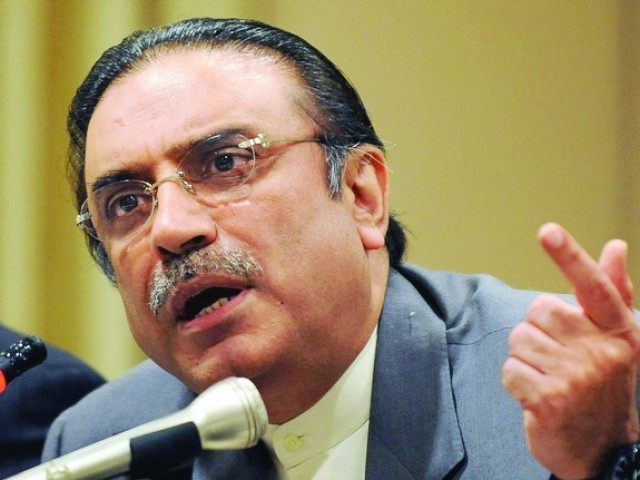 Asif Zardari. PHOTO: EXPRESS