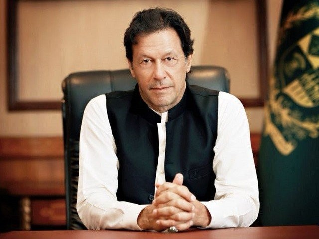PM Imran Khan.  PHOTO:EXPRESS