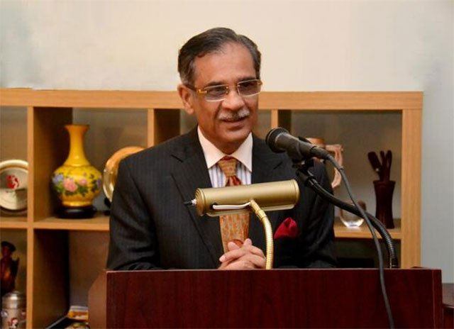 Chief Justice of Pakistan Mian Saqib Nisar. PHOTO: EXPRESS/FILE