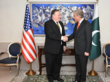 US Secretary of State Mike Pompeo and Foreign Minister Shah Mehmood Qureshi PHOTO: FOREIGN OFFICE