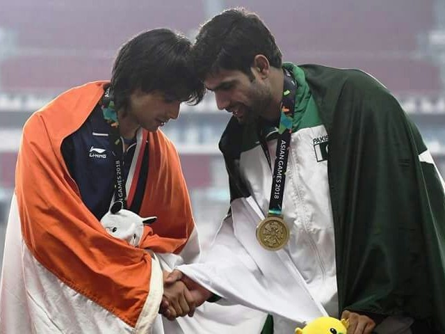 Nadeem believes he can win an Olympic medal for Pakistan after bagging an Asiad bronze, if he is given the right kind of training before the 2020 Tokyo Olympics. PHOTO COURTESY: ARSHAD NADEEM