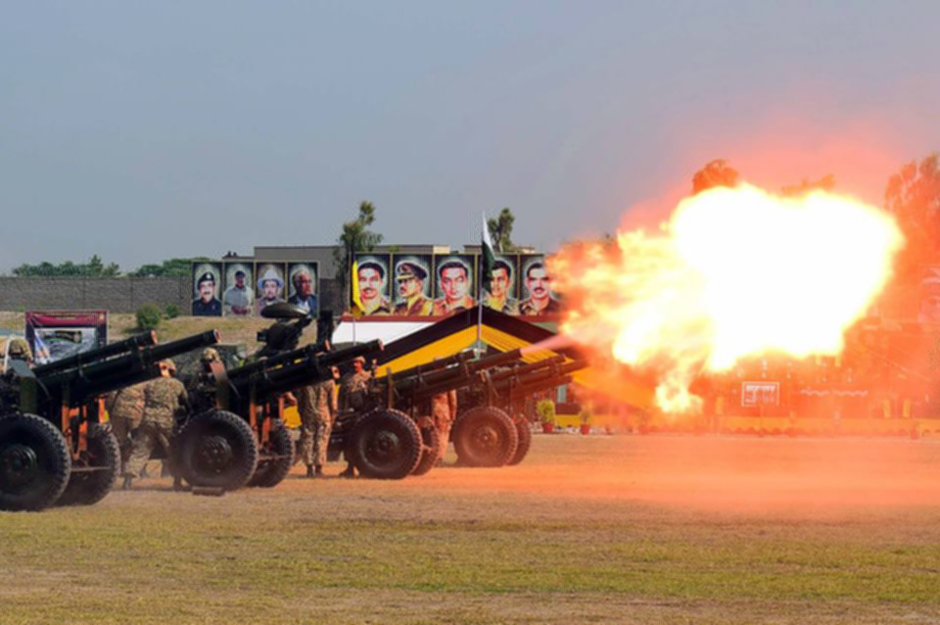 Defence day celebration in Peshawar PHOTO: APP