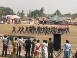 Defence day celebration in Khyber Pakhtunkhwa PHOTO: EXPRESS TRIBUNE