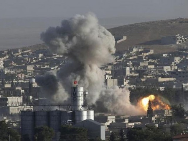 Russian airstrikes kill two in Syria's Idlib. PHOTO: REUTERS
