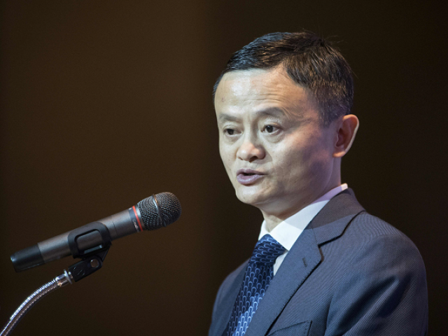 Alibaba group founder and CEO, Jack Ma.  PHOTO:AFP