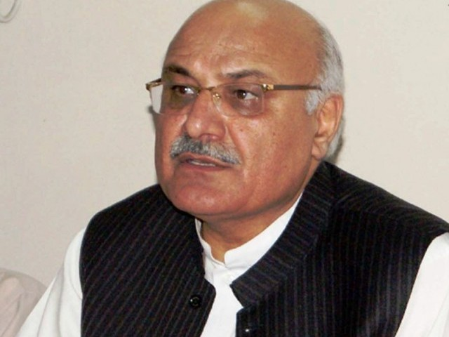 ANP leader Mian Iftikhar Hussain. PHOTO: NNI