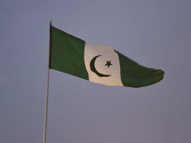 Balochistan Awami Party flag. PHOTO: EXPRESS