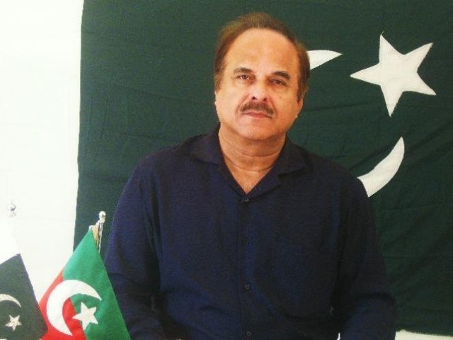 PTI leader Naeemul Haque. PHOTO: PTI