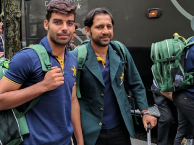 PCT arrives in Dubai ahead of Asia Cup. PHOTO: RADIO PAK