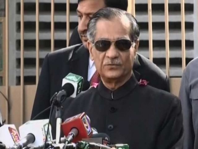 CJP Mian Saqib Nisar: PHOTO:EXPRESS/FILE