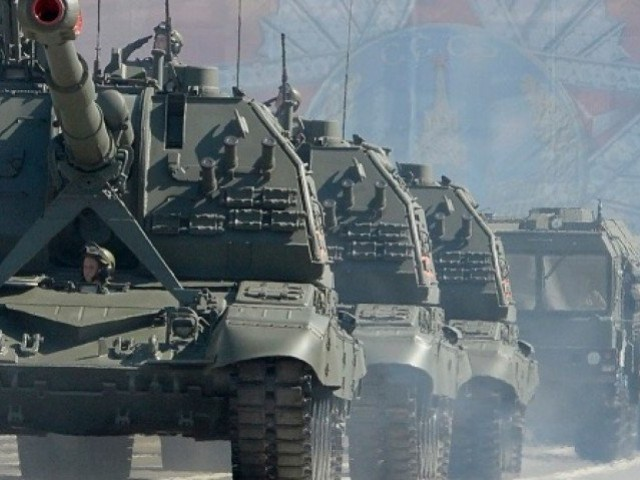 Russia Holding Massive Military Drills, As Putin Meets Xi