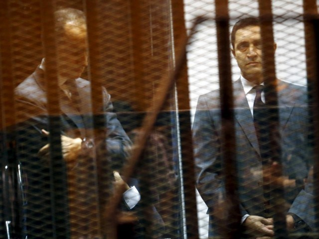 Egypt court orders arrest of Mubarak's sons