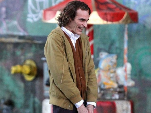 Todd Phillips Reveals First Look at Joaquin Phoenix in 'Joker' Movie