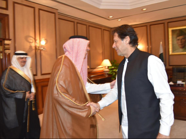 PM Imran Khan in Saudi Arabia for first foreign trip