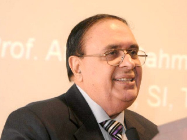 Former HEC chairperson Dr Attaur Rehman. PHOTO: FILE