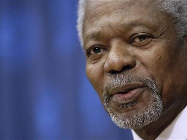 Kofi Annan. PHOTO: REUTERS