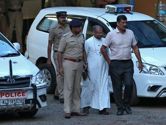 Pope obliges Bishop Franco Mulakkal's request, temporarily relieves him of duties
