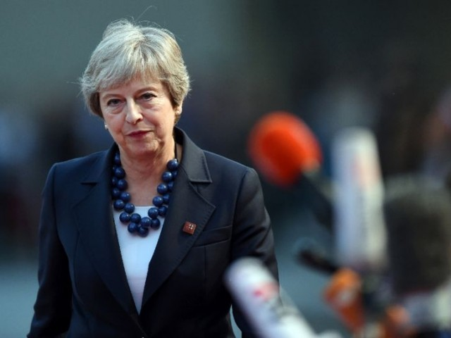 UK PM May cautions: Alternative to my Brexit deal is no deal