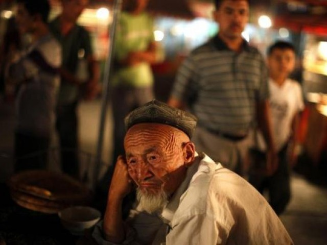 A Chinese Muslim. PHOTO: REUTERS