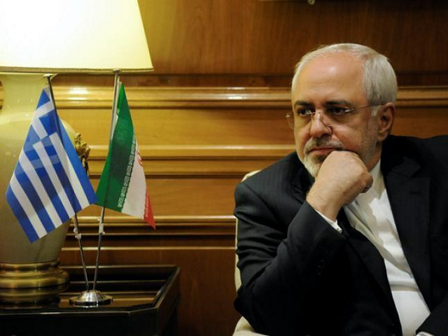 The US must start acting like a normal state, says Zarif.  PHOTO: REUTERS