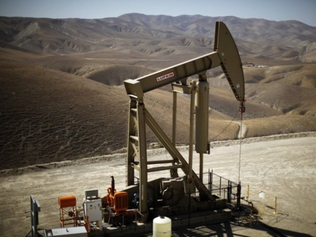 At present, Pakistan produces around 4 billion cubic feet of gas per day (bcfd) and 86,000 barrels of oil per day. PHOTO: REUTERS