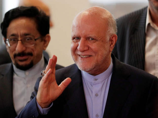 Iran's Oil Minister Bijan Zanganeh arrives for an OPEC meeting in Vienna, Austria, June 22, 2018. PHOTO: REUTERS