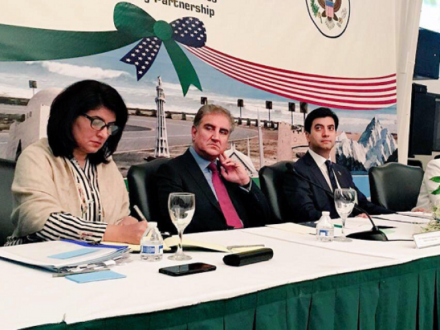 Qureshi in Washington for a day before UN General Assembly session