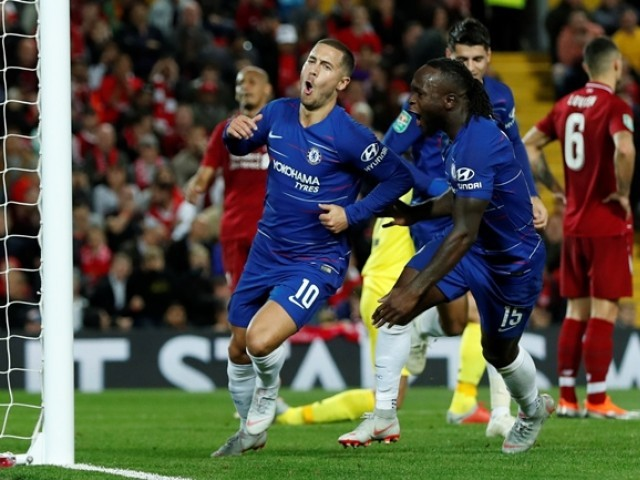 English Premier League Report: Chelsea v Liverpool 29 September 2018