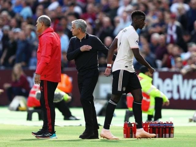 Quipping Paul Pogba underlines rift with Mourinho after West Ham defeat