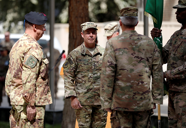 USA general assumes North Atlantic Treaty Organisation command in Afghanistan