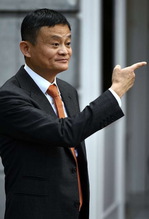 Alibaba co-founder and chief Jack Ma announced on September 7, 2018 he will leave from the Chinese e-commerce giant on Monday. PHOTO:AFP
