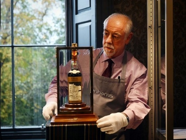 `Holy Grail of whisky´ fetches nearly £850,000 at auction