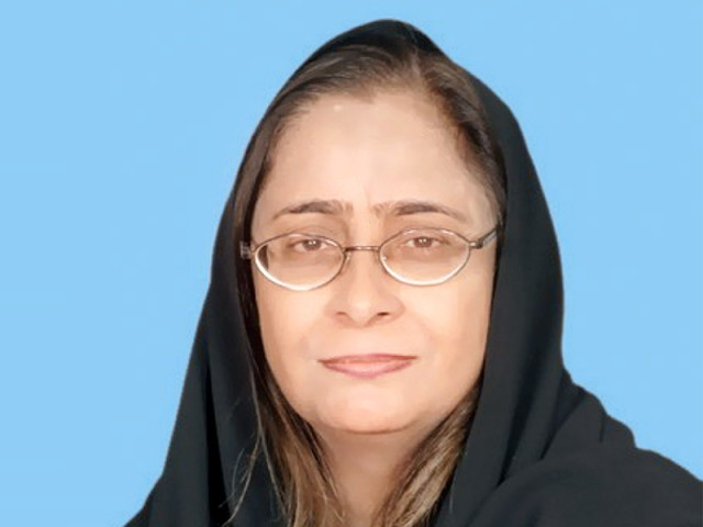 Sindh Health Minister Dr Azra Pechuho. PHOTO: EXPRESS