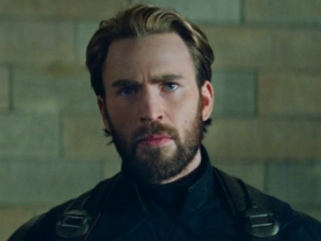 Chris Evans appears to hang up Captain America boots