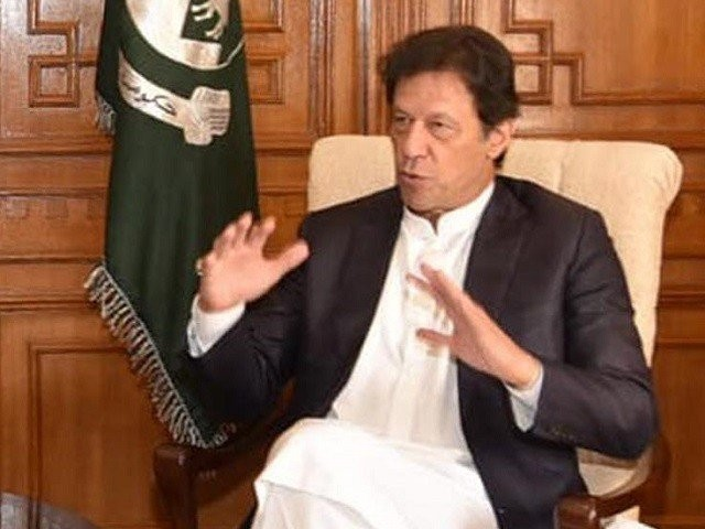 Prime Minister Imran Khan. PHOTO: EXPRESS