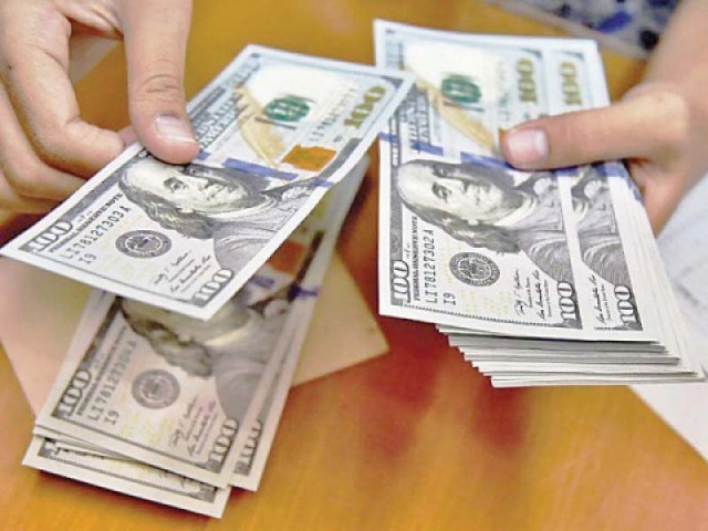 rupee hits 10 week low against us dollar the express tribune