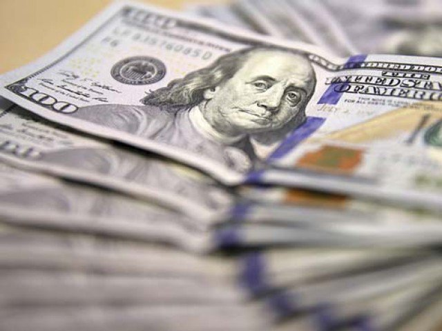 Settles at Rs133.6 in inter-bank market after govt opts for an IMF bailout