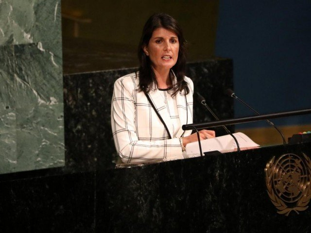 UN ambassador Nikki Haley to leave at end of year