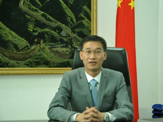 Governments of both the countries are working on a mechanism to provide Balochistan a major share in CPEC, the Chinese ambassador says. PHOTO: FILE