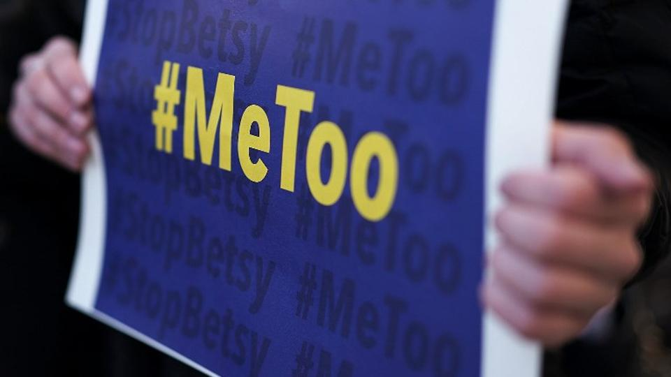 #MeToo. PHOTO AFP