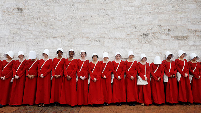 How 'The Handmaid's Tale' costume became a symbol of women ...